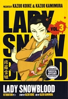 Lady Snowblood Manga Vol. 3