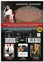 Lady Snowblood Czech DVD back