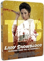 Lady Snowblood UK Blu-ray Steelbook Test Cover