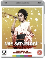 Lady Snowblood UK DVD/Blu cover